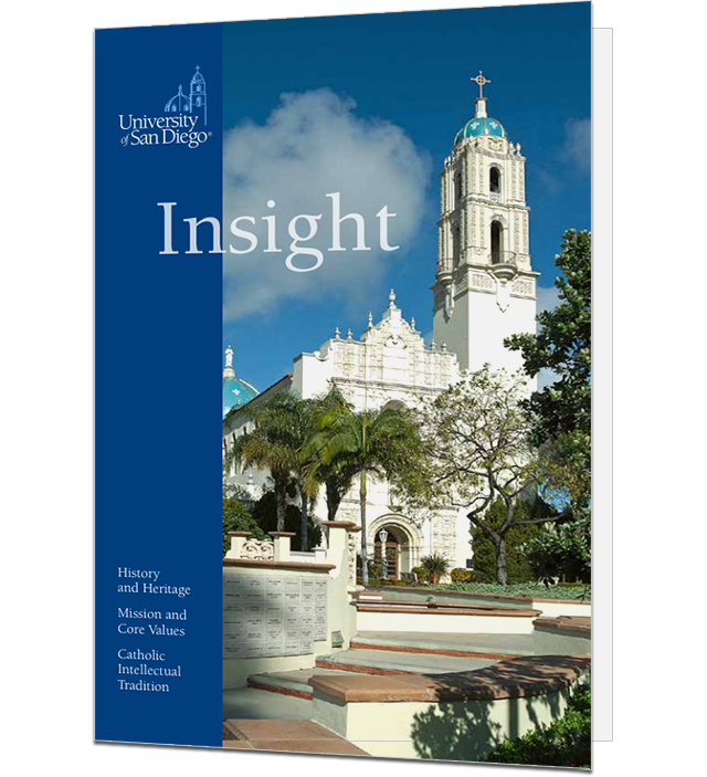 University of San Diego - Insight - History and Heritage, Mission and Core Values, Catholic Intellectual Tradition